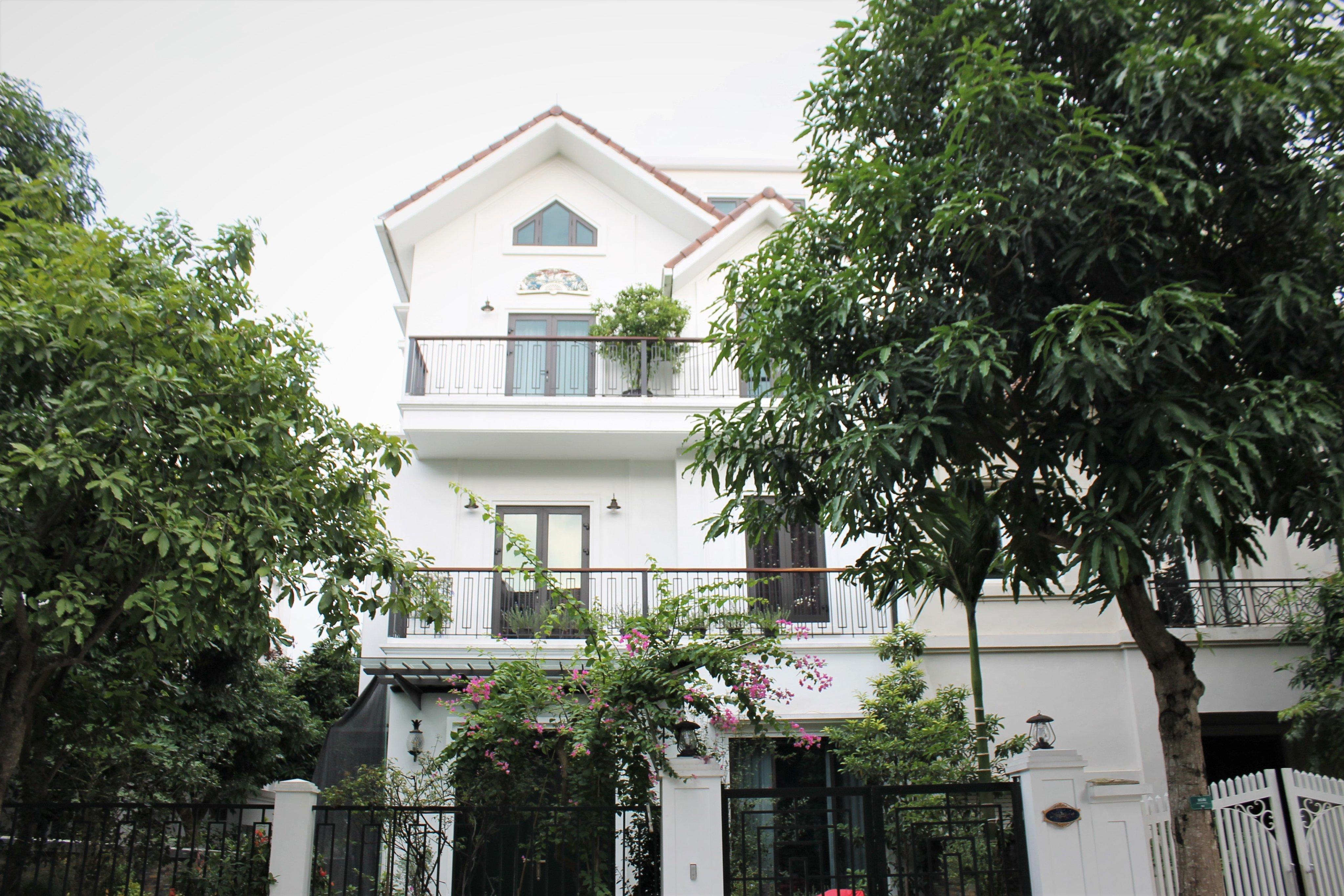 Vinhomes Riverside Villas/ houses for rent in Long Bien, Hanoi