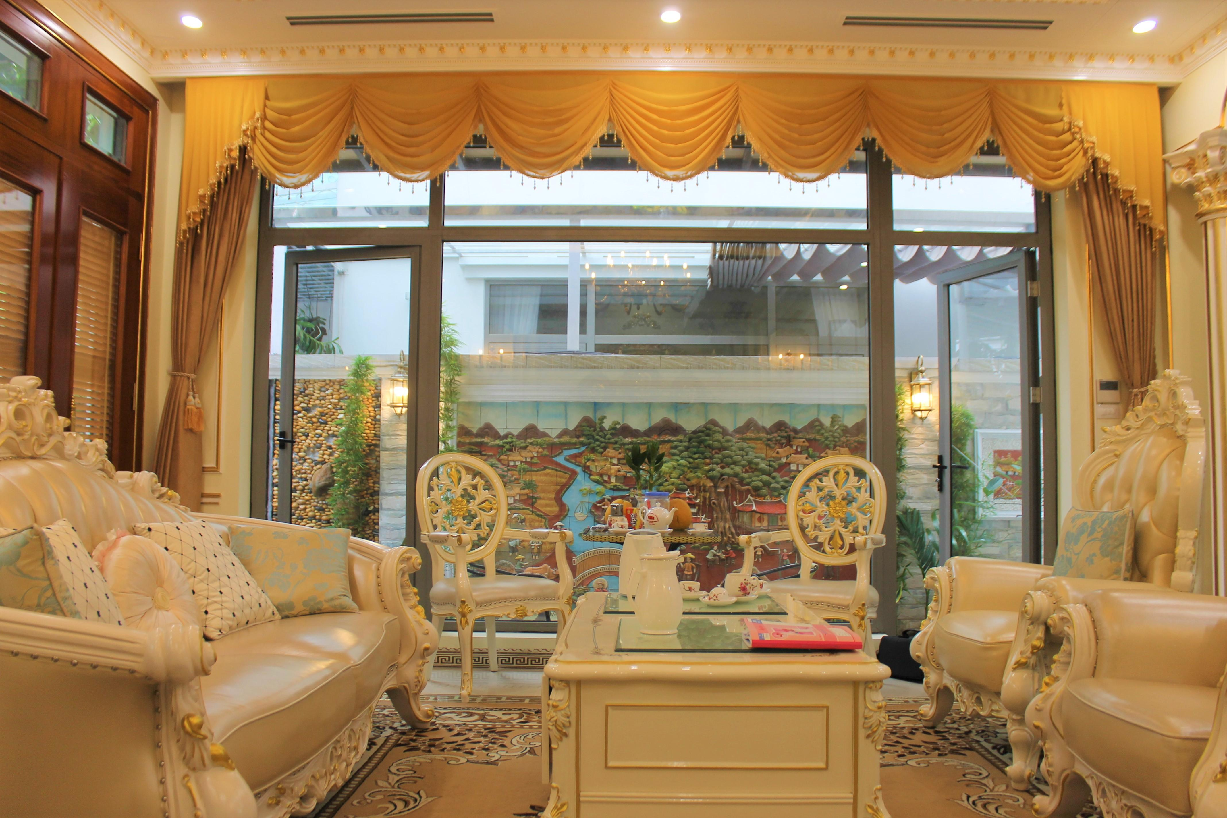 LUXURY FURNISHED VINHOMES THE HARMONY VILLA TO LEASE